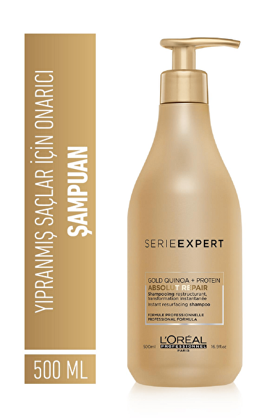 Serie Expert Gold Quinoa Absolut Repair Şampuan 500ml