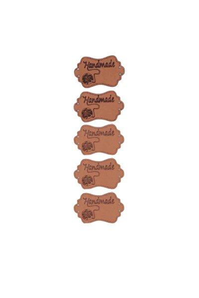 Deri Handmade Etiketi Model 2