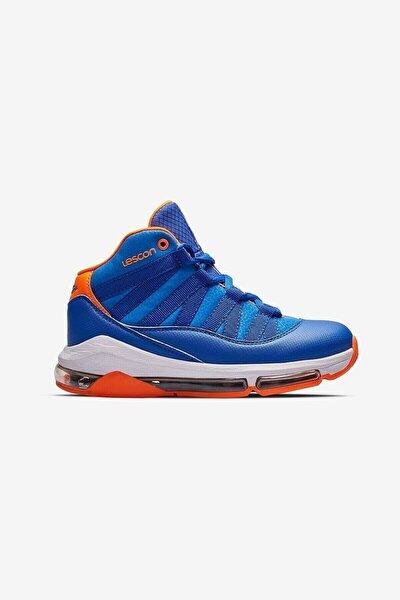 Erkek Çocuk Mavi Junior Bounce 2 Saks Basketbol Ayakkabısı