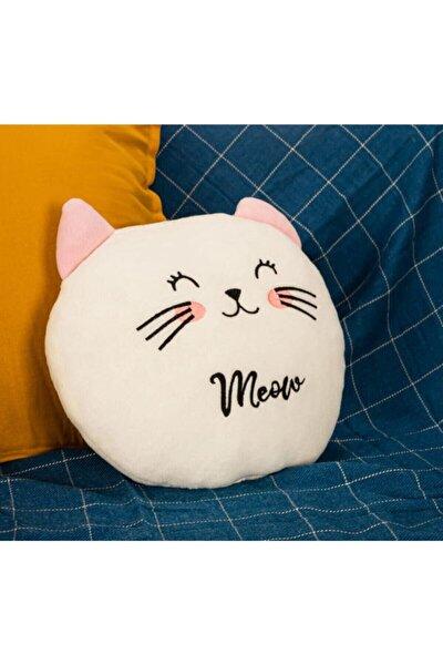 Sevimli Kedi Peluş Yastık