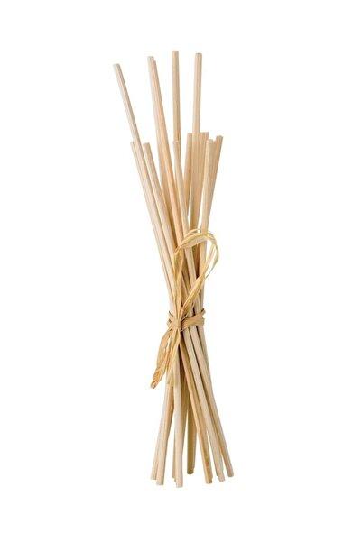 Ahşap Rattan Bambu Koku Çubuğu 30 Adet