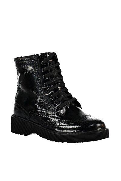 Hakiki Deri Siyah Kadın Ayakkabı 120119217030