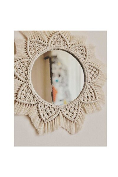 Mimoza Makrome Ayna
