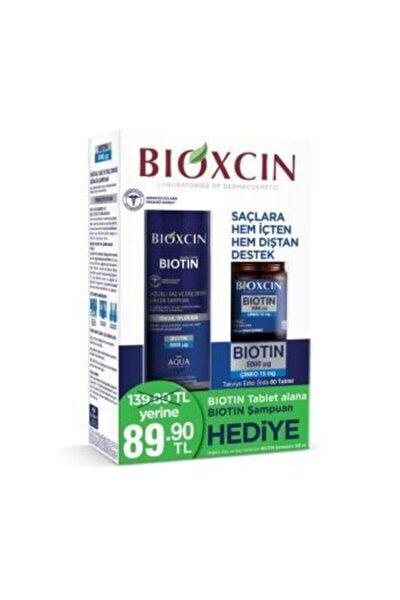 Biotin Tablet 5000 Mg Biotin Şampuan 300ml Hediye