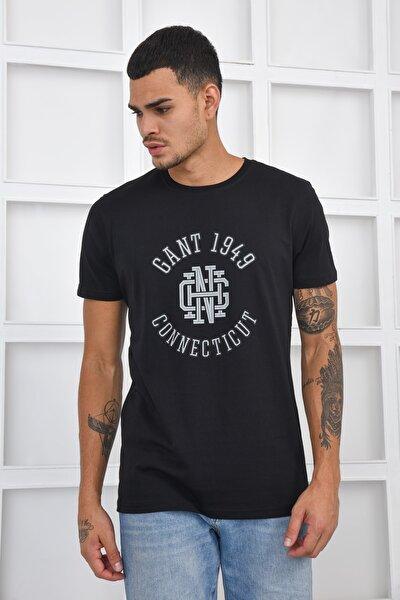 Erkek T-shirt - Siyah