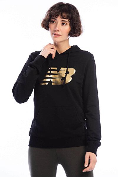 Kadın Sweatshirt - V-WTH804-BKW