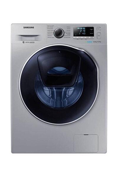WD90K6B10OS AddWash 1400 Devir Gri 9 kg / 6 kg Kurutmalı Çamaşır Makinesi