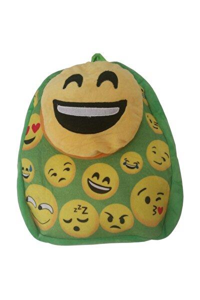 Emoji  Peluş Çanta Yeşil