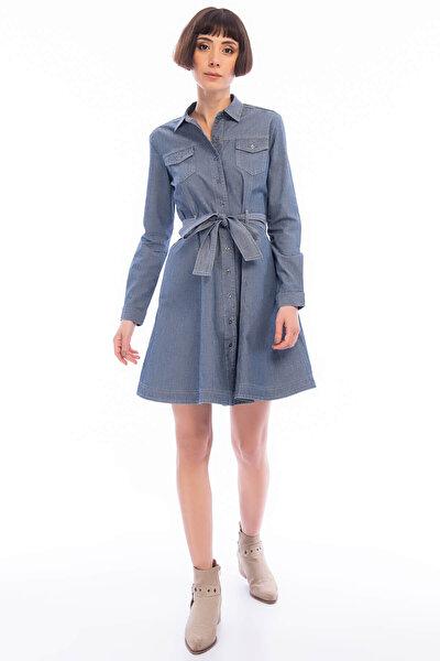 Kadın Sensei Denim Elbise 191 LCF 144005