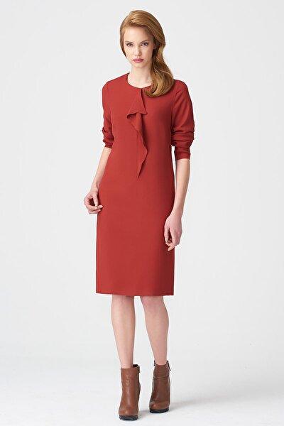 Kadın Kiremit Elbise 17K11112Y817