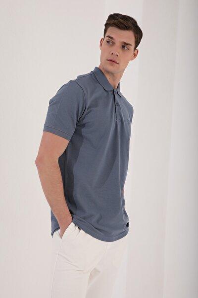 Erkek Basic Logolu Polo Yaka T-shirt