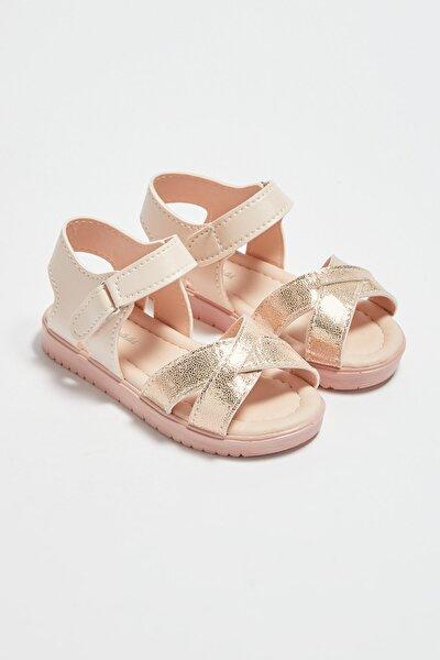 Kız Çocuk Bronz J5U Sandalet