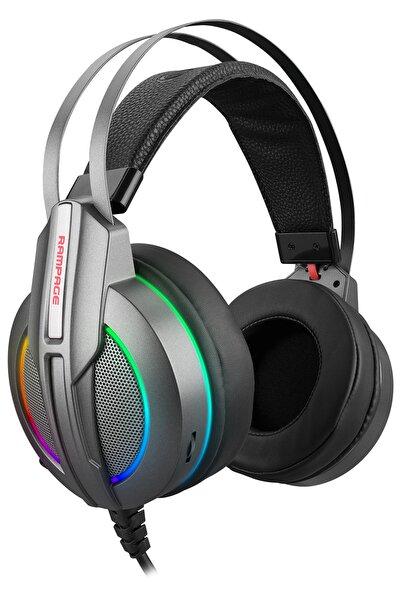 Rm-k6 Stark Siyah Usb 7,1 Version Rgb Ledli Gaming Oyuncu Mikrofonlu Kulaklık
