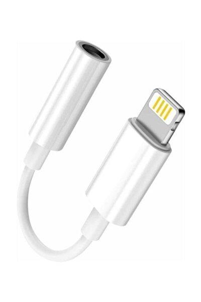 Iphone 7 8 X Plus Uyumlu Kulaklık Çevirici Lightning Aux Dönüştürücü