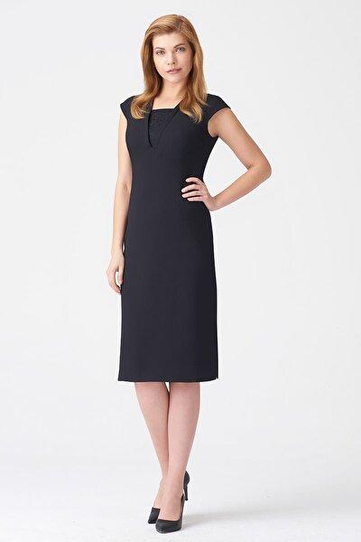 Kadın Siyah Elbise 17K11112Y829