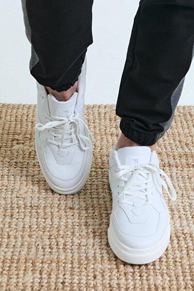 Beyaz Unisex Sneaker TBASL-0