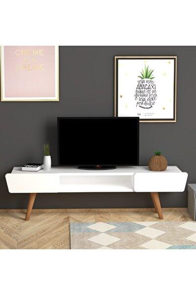 Butterfly Tv Sehpası Beyaz
