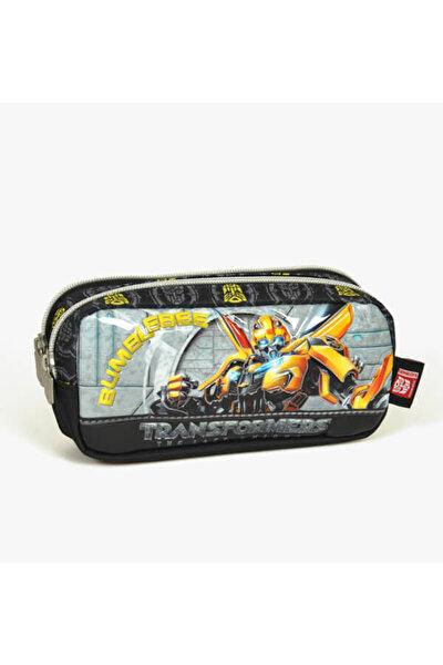 Yaygan Transformers Bubmblebee Erkek Çocuk Kalem Çantası Siyah /