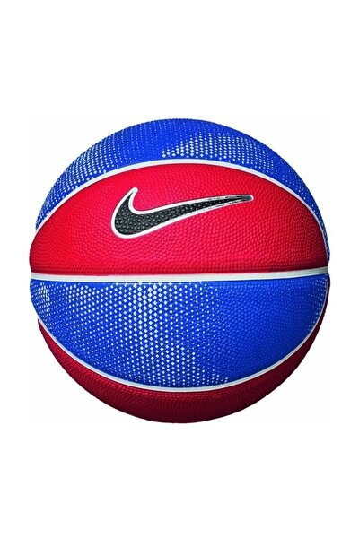 Nkı08-445 Skills Kauçuk 3 No Mini Basketbol Topu Kırmızı/Mavi