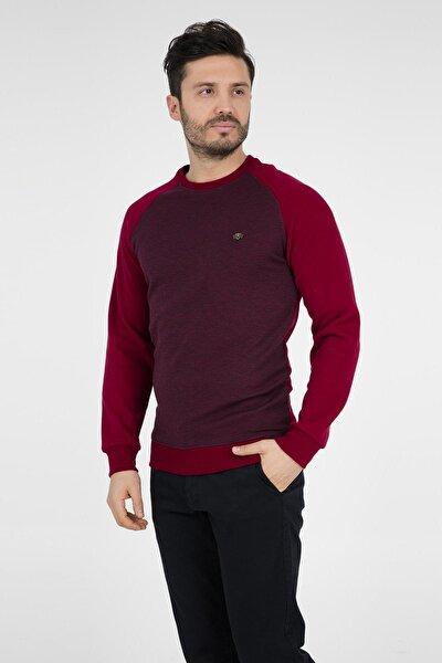 Erkek Bordo Sweatshirt - 4561164
