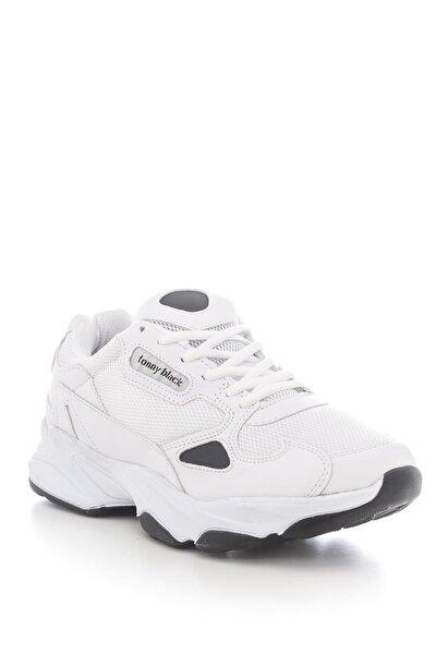 Unısex Spor Ayakkabı Beyaz Siyah Zhr