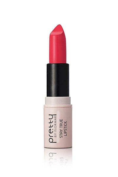 Ruj - Pretty By Flormar Stay True Lipstick Red Orange 8690604462421