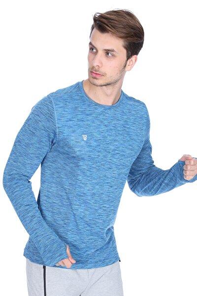 Erkek T-Shirt Seamless Uzun Kol T-Shırt - TKE1044-00M