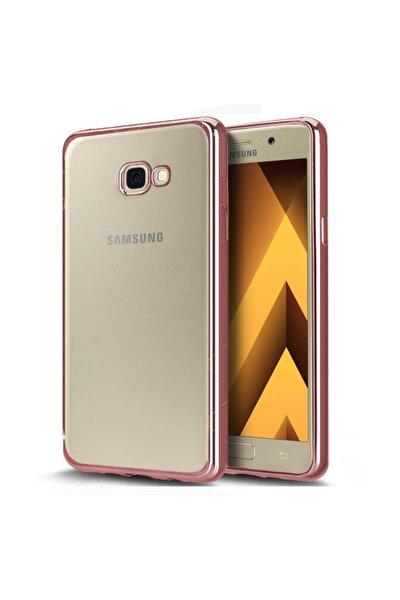 Samsung Galaxy A5 2017 Kılıf Flexi Delux Rose Gold