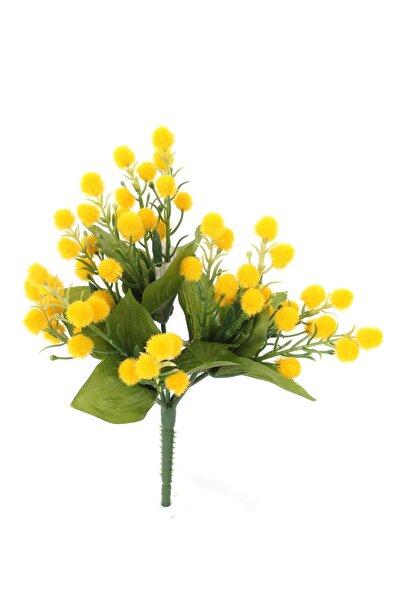 Yapay Çiçek Mimoza Demet 20 Cm
