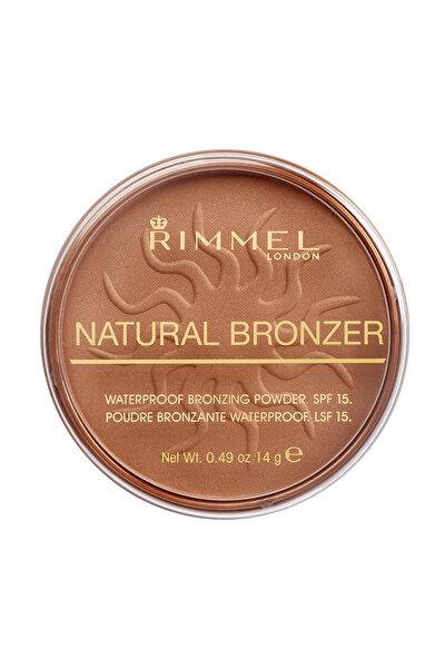 Bronzlaştırıcı Pudra - Natural Bronzer Sun Bronze 5012874101627