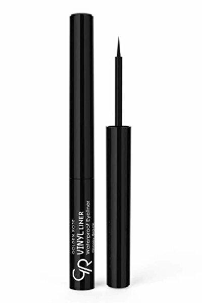 Suya Dayanıklı Siyah Eyeliner - Vinyl Liner Waterproof Glossy Black 8691190965778