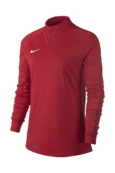 Kadın Sweatshirt - W Nk Dry Acdmy18 Drıl Top Ls - 893710-657
