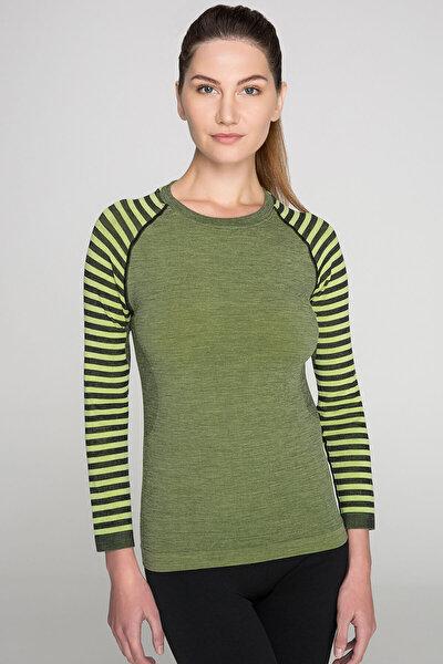 Ultimate Merıno Kadın Seamless Termal Sweatshirt