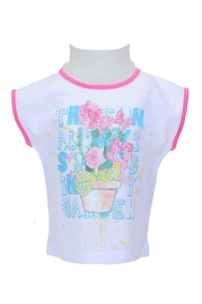 Beyaz Kız Bebek T-Shirt 71Z2SRM51