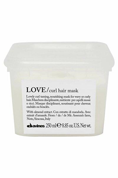 Kıvırcık Saçlar için Bukle Belirgenliştirici Maske - Love Curl Hair Mask 250 ml 250 ml 8004608257158