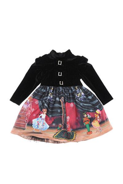 Siyah Kız ÇocukAbiye Elbise