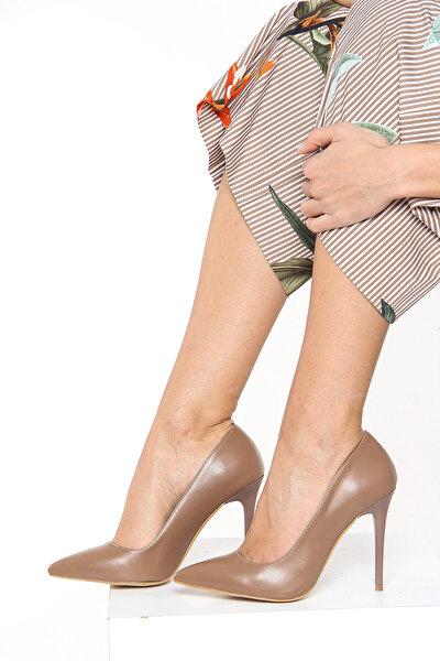 Vizon Kadın Topuklu Ayakkabı 18Y 708