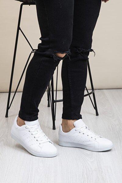 Beyaz Unisex Sneaker TBSTN-0