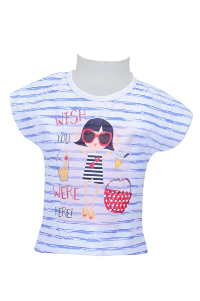 Beyaz Kız Bebek T-Shirt 71Z2MPC52