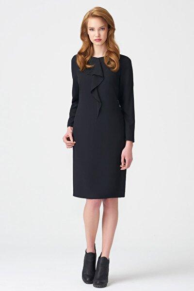 Kadın Siyah Elbise 17K11112Y817