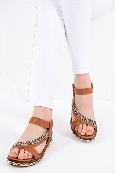 Taba Kadın Sandalet F288091009