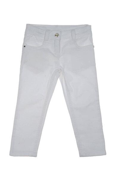 Beyaz Kız Çocuk Pantolon 1812166100