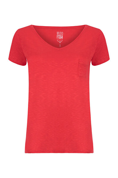 Kadın Nar Çiçeği T-Shirt 1191321
