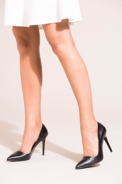 Siyah Kadın Topuklu Ayakkabı 8922151909