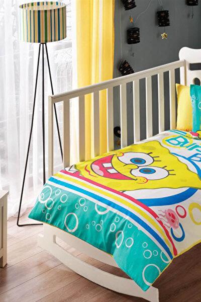 Sponge Bob Bubble Bebek Nevresim Takımı