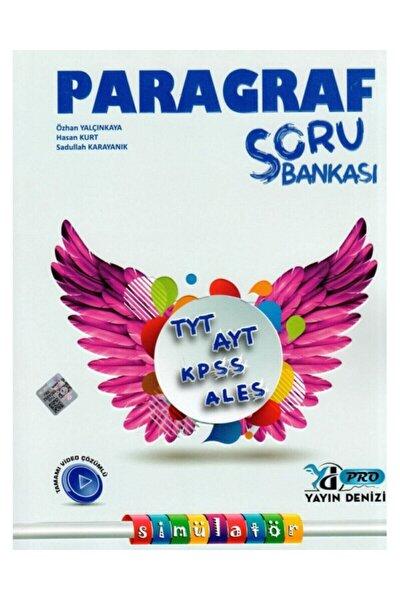 Tyt Ayt Kpss Ales Paragraf Pro Soru Bankası Yayın Denizi Yayınları