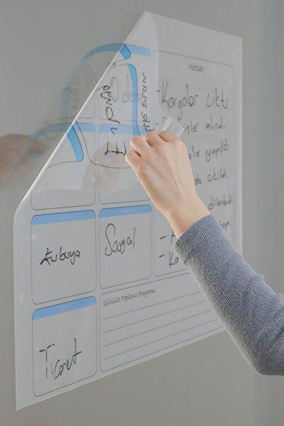 Haftalık Planlayıcı Yapışkansız Manyetik Akıllı Kağıt & Silgili Kalem Hediyeli
