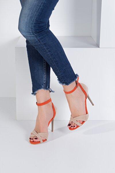 Ten Turuncu Kadın Topuklu Ayakkabı B922113802