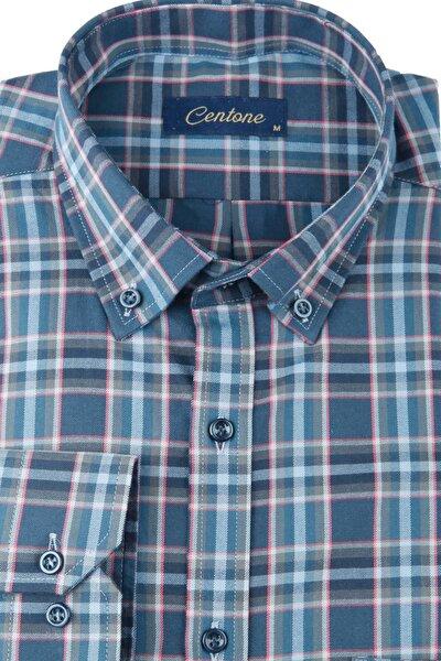 Comfort Fit Uzun Kol Gömlek 18-0263