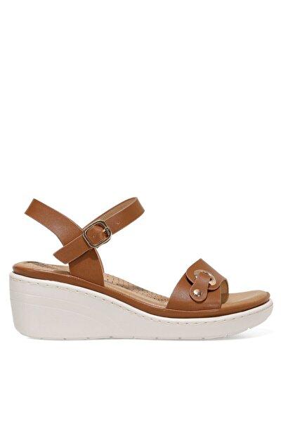 DUNSTER 1FX Kahverengi Kadın Dolgu Topuklu Sandalet 101027871